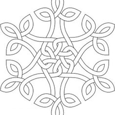 snowflake coloring pages | snow flake kids coloringpage at ... - Christmas Snowflake Coloring Pages