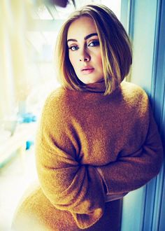 "adeles: "" """"I've never wanted to look like models on the cover of magazines. I represent the majority of women and I'm very proud of that."" - Adele photographed by Simon Emmett "" """