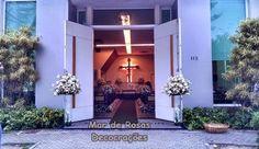 Mar de Rosas Decorações Lindolfo Soares: Capela Santo Antonio - Península Barra