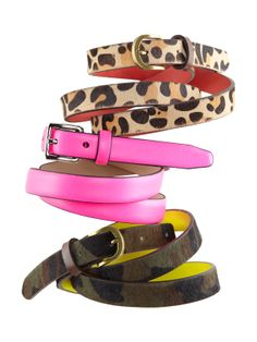 Calf hair belt #GapLove