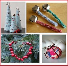 Christmas crafts | zakka life: Kid Christmas Crafts