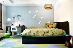 Light Contemporary Kid's Room by Amanda Moore on HomePortfolio