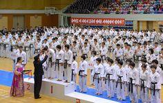 태양절경축 만경대상전국무도선수권대회 페막
