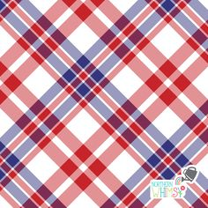 Red White and Blue Patriotic plaid patterns by Northern Whimsy Design Pattern Images, Pattern Design, Scrapbooking Layouts, Scrapbook Paper, Blue Background Patterns, Graphic Patterns, Printable Paper, Free Paper, Surface Pattern
