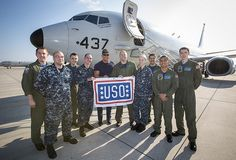 Chef Robert Irvine with troops on a USO Tour - January 2015