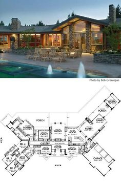 lovely large ranch home plans cliff ranch house floor plans open ranch style floor plans ranch house plans generally