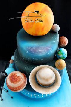 Tarta planetas