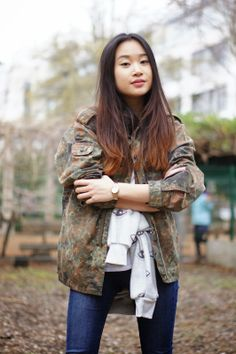 CAMO X EYES | Following-mi http://www.followingmi.com Instagram streetstyle fashion