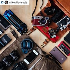 Amazing work by @mikevillavisuals - follow and enjoy! - What's in your bag? #mycamerabag ・・・ LAX -> SFO -> HKG -> SGN -> KUL -> CGK -> DPS -> SIN -> DME -> SVO -> LAX #whereonagoes #thinktankphoto #fuji #fujifilm #fujifilm xseries #canon