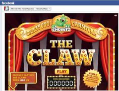 The Carnival Claw Game on Facebook from Chewits The Claw, Carnival Themes, Amusement Park, Facebook, Game, Gaming, Toy, Games