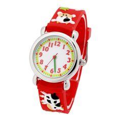 Waterproof Kid Watches Cow Children Silicone Wristwatches Brand Quartz Wrist Watch Baby For Girls Boys Fashion Casual Reloj Children's Watches, Wristwatches, Boy Fashion, Cow, Quartz, Girls, Casual, Baby, Fashion For Boys
