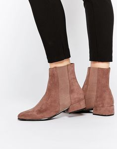2c3b04c39a789 ASOS ANGLES Chelsea Ankle Boots at asos.com