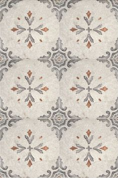 This Spanish inspired patterned tile is classic but will make a bold statement in any home.  Use this luxury tile as floor tile in your bathroom, or as a kitchen backsplash.  This design looks amazing on a travertine or limestone tile.