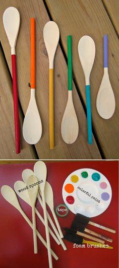 Craft Your DIY Craft: Custom Wooden Spoons