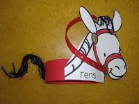 "Hello, we are the bee, ladybug and caterpillar class of CBS ""AquaMarijn … – Knippen Horse Crafts Kids, Dragons, Catholic Crafts, Saint Nicholas, Art N Craft, School Themes, Caterpillar, Ladybug, Saints"