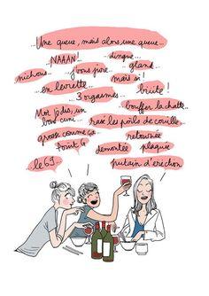 Margaux Motin. Diner entre filles.