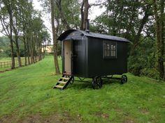 Holiday shepherds hut delivered to West Dorset