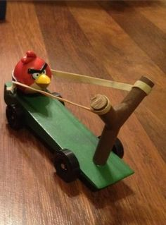 Angry Birds Pinewood Derby