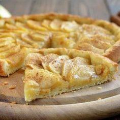 torta de maçã low carb