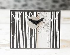 Halloween card by amuse studio.  New stamps available on August 1st!