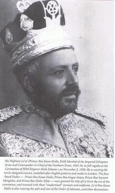 Ras Kassa Hailu  Leul Ras Kassa Hailu was the most senior Prince of the Blood during the reign of Emperor Haile Selassie. He was the head of the cadet Selale Branch, a sub-branch of the Shewan Branch of the Imperial Solomonic Dynasty of Ethiopia