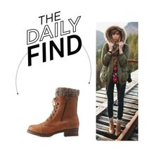 """""""Daily Find: Charlotte Russe Combat Boots"""" by polyvore-editorial ❤ liked on Polyvore featuring Charlotte Russe and DailyFind"""