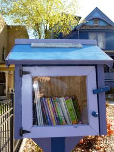 14 Photos of Little Free Libraries You'll Want to Build in Your Community
