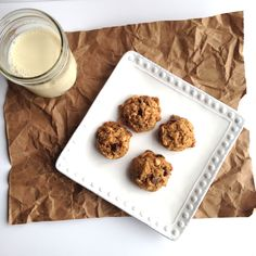 Coconut Oil Cookies with Choco-PB Chips {vegan}--- delicious, soft cookies made with coconut oil instead of butter!