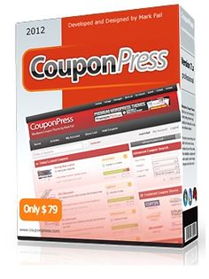 Producto : CouponPress 6.2.2  Precio Real: $79 USD Precio Comunidad-Seo: GRATIS  WebSite: http://comunidad-seo.com/couponpress-6-2-2-full-crack/
