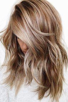 Dark Blonde Hair Color, Blonde Hair With Highlights, Balayage Hair Blonde, Brown Blonde Hair, Cool Hair Color, Brown Hair Colors, Brunette Hair, Hair Colour, Dark Hair