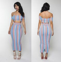 Jumpsuits, dresses, swimsuits and more all custom made to your measurements. Sexy Party Dress, Hot Dress, Sexy Dresses, Emerald Dresses, Fashion Models, Fashion Outfits, Dress Cuts, Flare Skirt, Clubwear