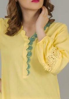 Salwar Suit Neck Designs, Neck Designs For Suits, Neckline Designs, Sleeves Designs For Dresses, Dress Neck Designs, Kurta Designs Women, Stylish Dress Designs, Collar Designs, Stylish Dress Book