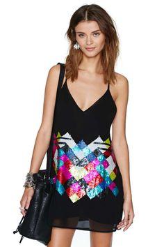 Nasty Gal Sparked Sequin Dress | Shop Dresses at Nasty Gal