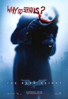 The Dark Knight: Advance Style B Movie Poster (2008)
