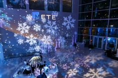 Event by Evoke Design & Creative Winter Wonderland Christmas Party, Fire And Ice, Holiday Parties, Washington Dc, Party Ideas, Wedding Ideas, Creative, Design