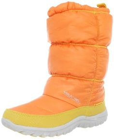 Mountrek Womens Laura Cabin Puff Snow BootOrange75 M US *** To view further for this item, visit the image link.