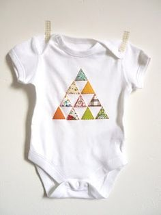 hand stitched onsie. Gift for my nephew?