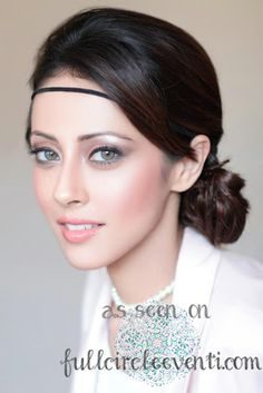 Wedding Planning Tips – ABC Bridal Look in the Buff Makeup for South Asian and Persian Brides