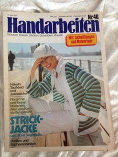 Handarbeiten Nr. 46 Stricken - Häkeln- Sticken - Schneidern- Basteln 1975 | eBay