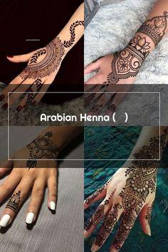 Arabian Henna (حنا) Henna Patterns, Hand Henna, Hand Tattoos