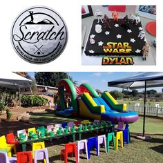 Our venue is based at the Opperman Driving Range in Montana and is available for any type of event. There is a wonderful playground consisting of a jungle gym with slides, swings and tyre play equipment. We can host your sports themed parties or even a high tea with a difference.