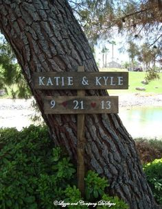 WeDDiNg SiGnS - ReCepTioN SiGn - Rustic Woodland Wedding Sign by lizzieandcompany, etsy