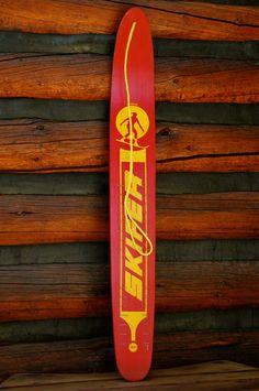 Vintage Snowboard - Nash Skifer