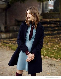 "The 1970s are back in a big way for the upcoming spring season, so Marie Claire Netherlands' February 2015 issue is right on trend with this editorial called, ""One Fine Day"". Model Sophie Vlaming shows some of the decade's most memorable trends including mid-length skirts, flared pants and furry coats in images captured by David Cohen de Lara. Stylist Marjolein Mos selects designer pieces from the likes of ..."