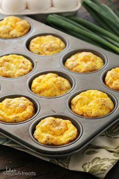 Ham and cheese egg muffins