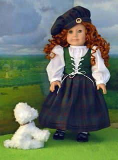 Scottish Bonny Lass AG Doll Wears Her by SpecialFriendsByJudy, $85.00