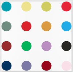 DAMIEN HIRST Isonicotinoyl Chloride, 2005 Household gloss on canvas 84 x 84 inches  (213.4 x 213.4 cm)