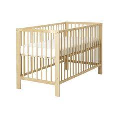 IKEA GULLIVER Crib, birch ($129) ❤ liked on Polyvore featuring home, children's room, children's furniture, nursery furniture, crib, baby, baby cribs and nursery
