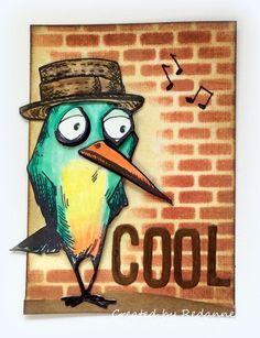 Redanne: Bird Crazy - for Inspiration Emporium