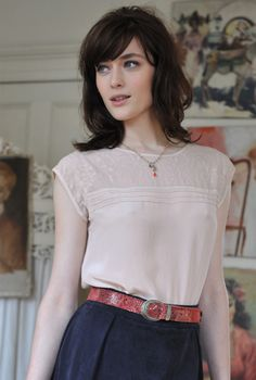 Embroidered Silk Blouse | Brora